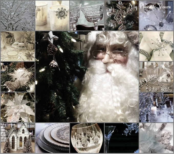 Winter wonderland collage