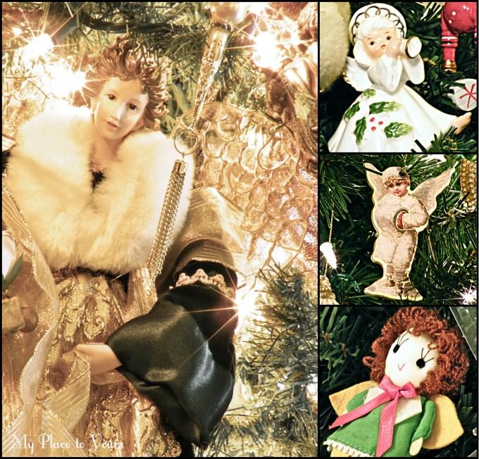 Xmas tree angels