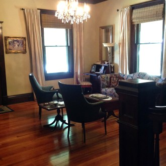 The Living Room: Old House Renovation Story