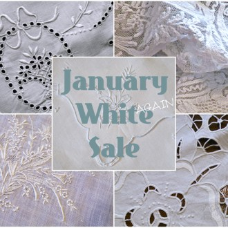 January WHITE AGAIN Sale on Restoration Linen Cleaner