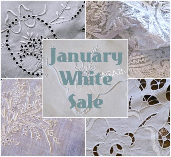 White AGAIN Sale