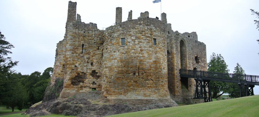 Dirleton Castle-A Noble Fortress-Residence