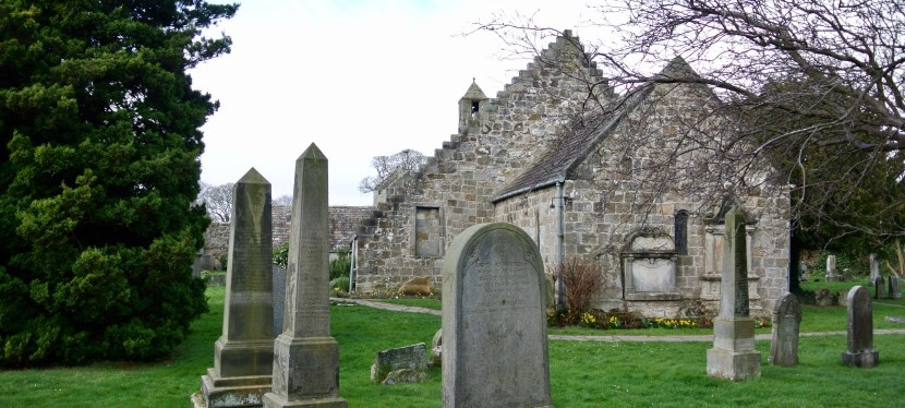 St. Fillan's Church-Aberdour, Scotland
