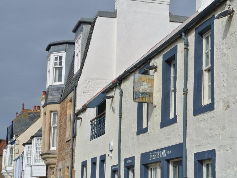 The Ship Inn restaurant in Elie, Scotland.