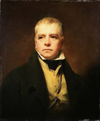 A painting of Walter Scott.