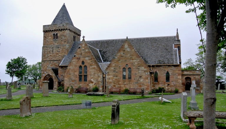 Aberlady Parish Church.