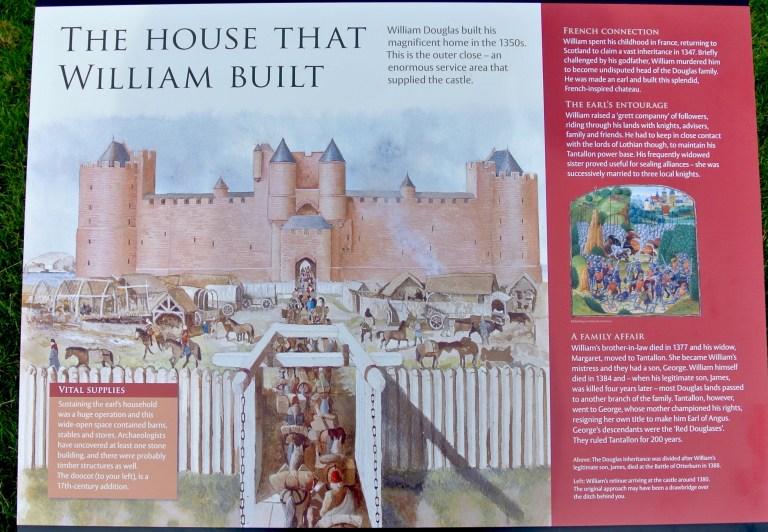 Castle signage.