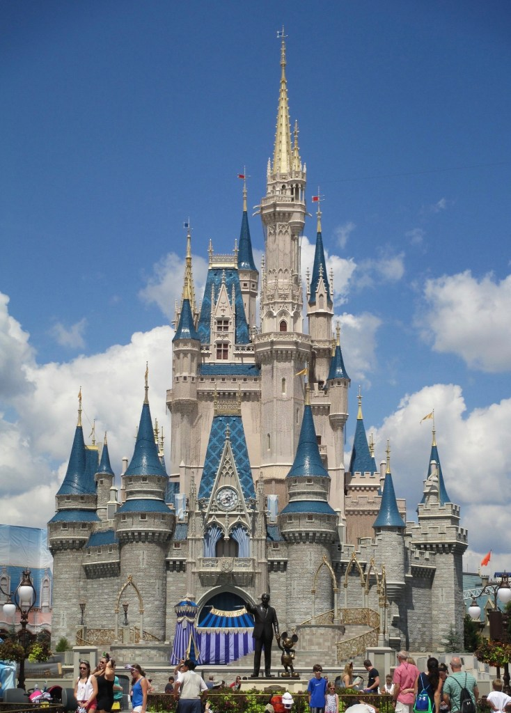 Cinderella's Castle at Walt Disney World.