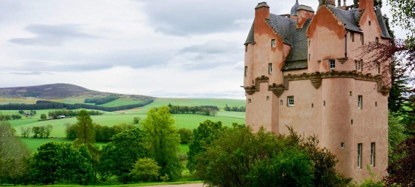 Craigievar Castle-Scotland's Iconic Pink Castle
