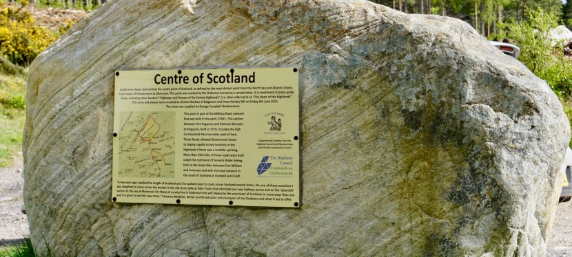 The Centre of Scotland-A Surprising Find