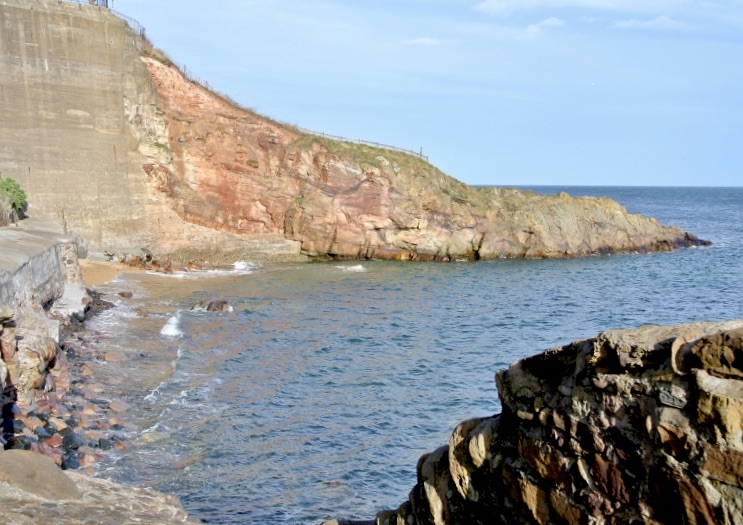 Scotland's east coast.
