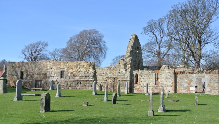 St. Andrews Kirk in Gullane, Scotland.