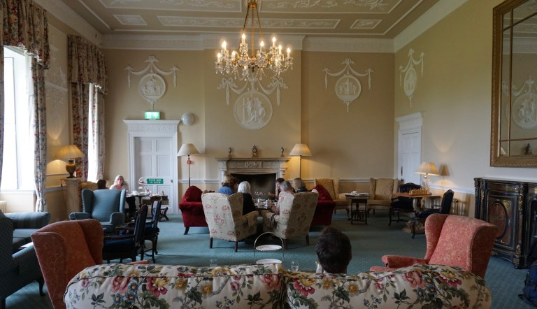 Drawing Room at Culloden House.