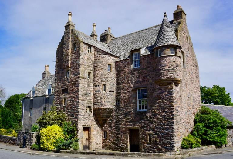 Fordyce Castle in Scotland.
