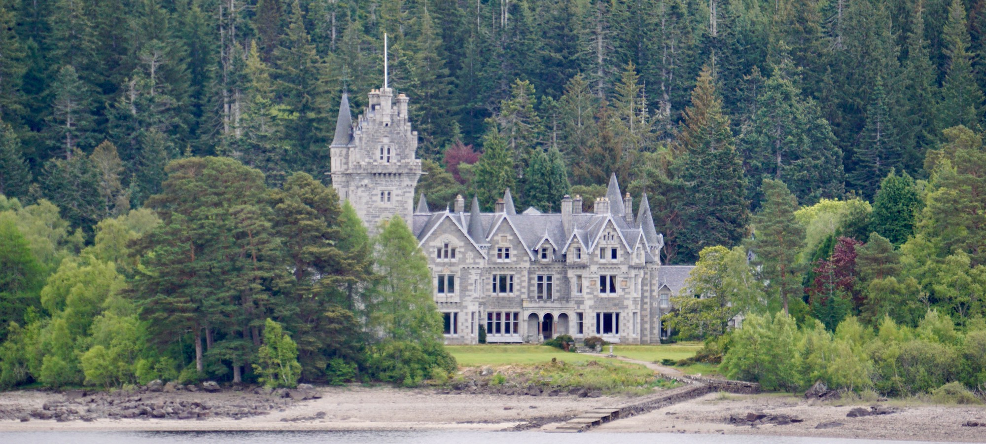 Ardverikie Estate in Scotland