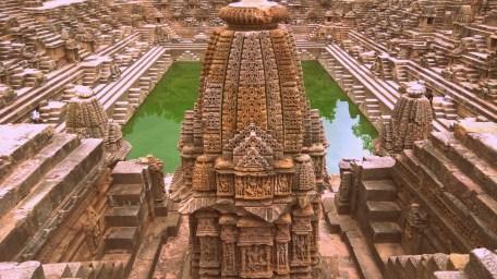 Ram Kund at Modhera Sun Temple, India