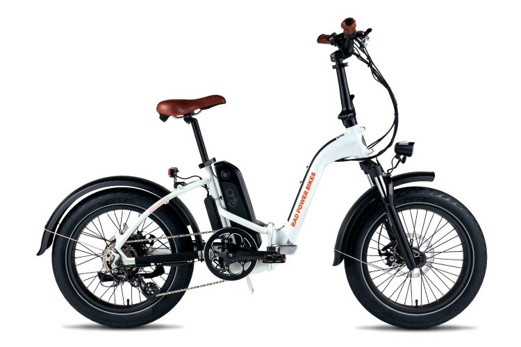 Folding Fat Tire E-Bike