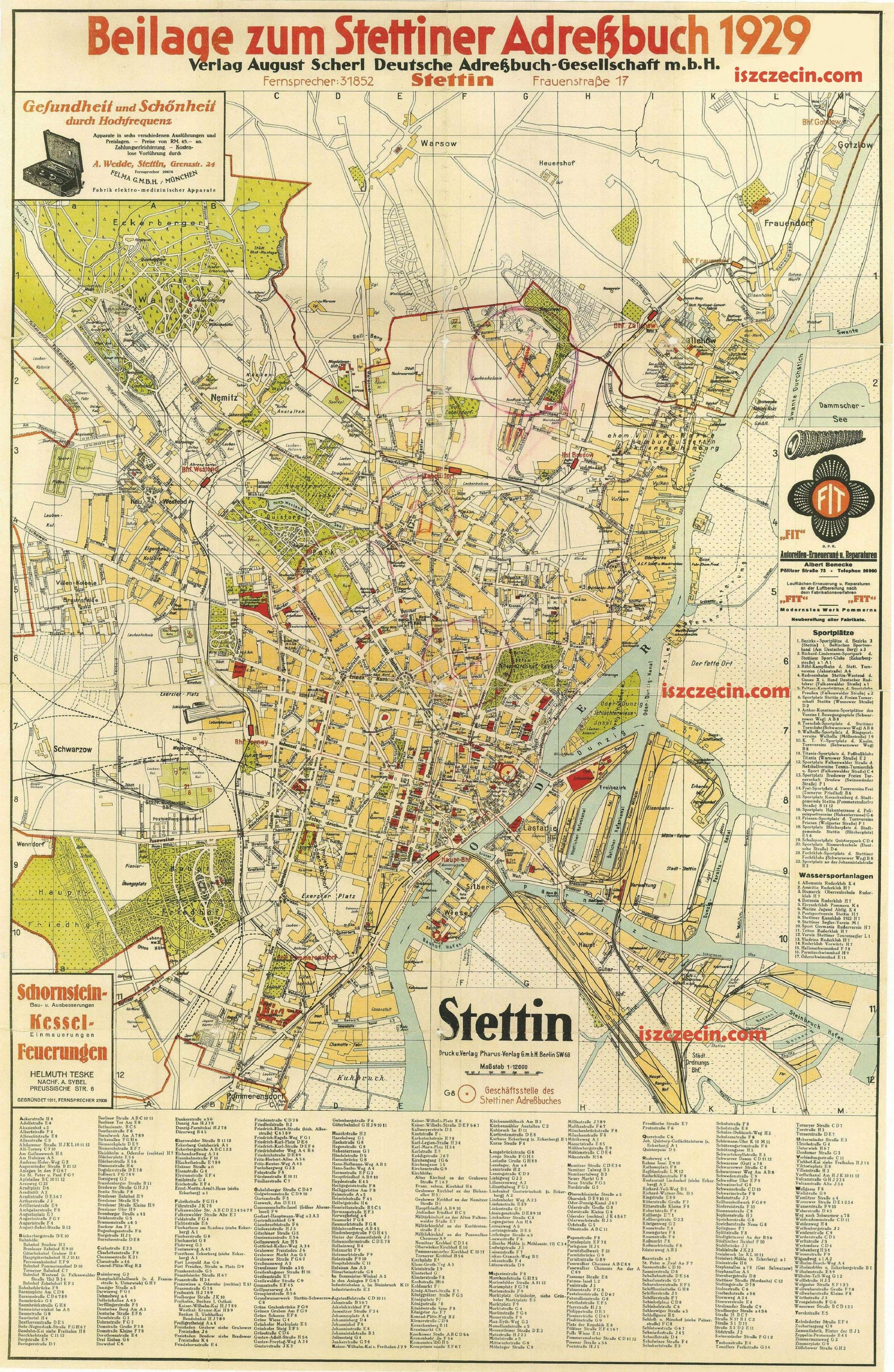 Stettin Deutschland