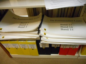 Early volumes of Die Pommerschen Leute accessible in large-print for free!