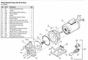 Polaris PB460 Booster Pump Parts Diagram