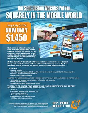 Semi-Custom Website brochure