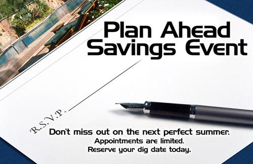 Plan Ahead Savings Event Postcard