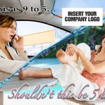 If 9-5 is stressful, should 5-9 be in your backyard paradise direct mail
