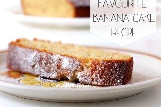 easy and delicious banana cake recipe
