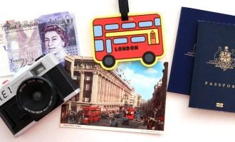 London Flatlay