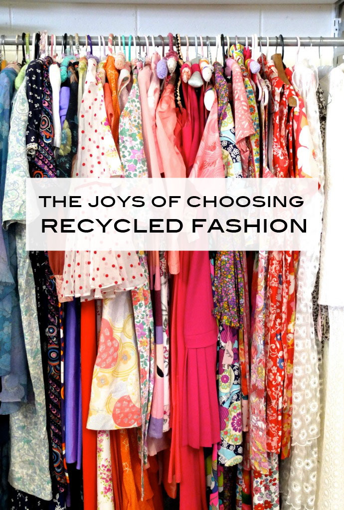 The Joys of Choosing Recycled Fashion Guest post by Erica Louise for My Poppet
