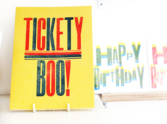 tickety boo note book