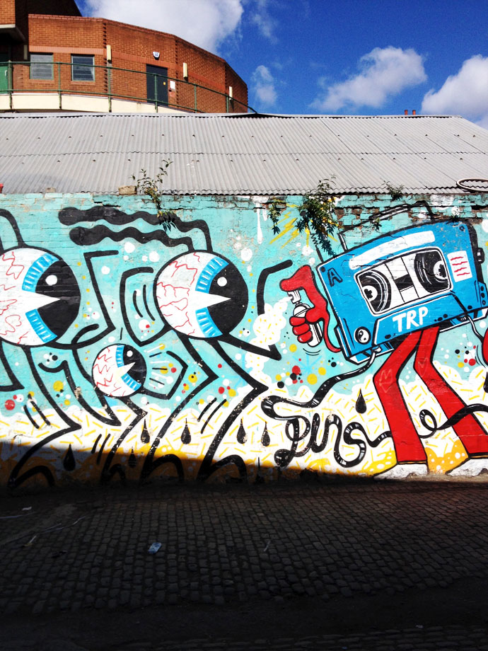 London street art Graffiti Travel Blog photos mypoppet.com.au Street art Hoxton