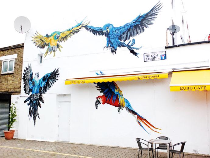 London street art Graffiti Travel Blog photos mypoppet.com.au Barnsbury