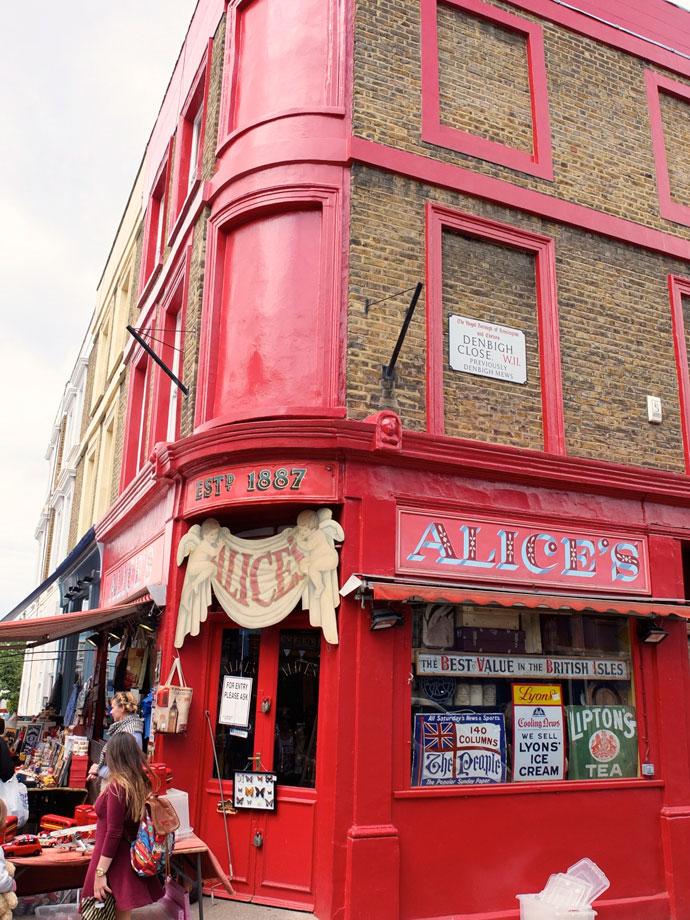 Alice's Portobello Road