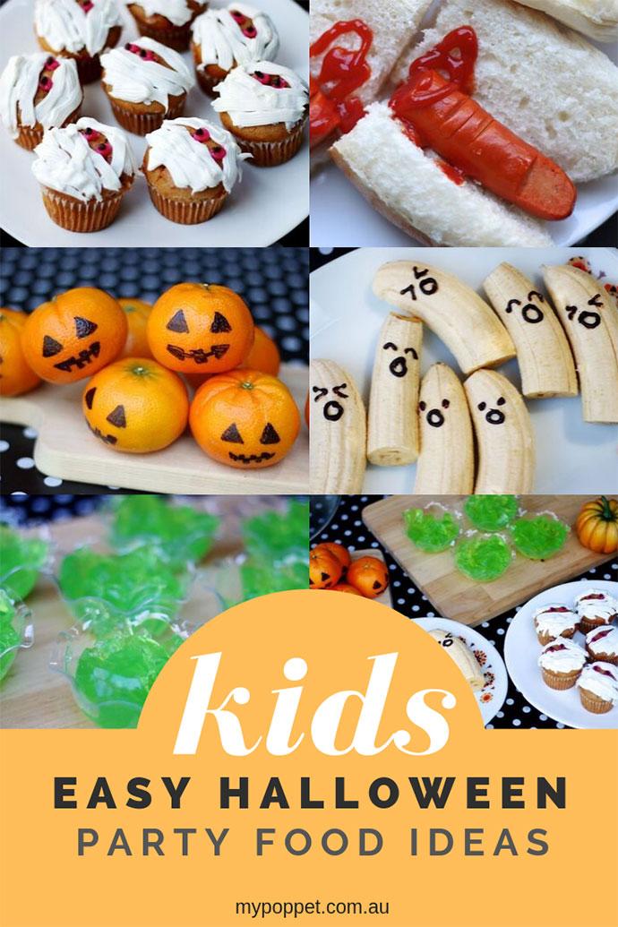 Kids Halloween party food ideas - mypoppet.com.au