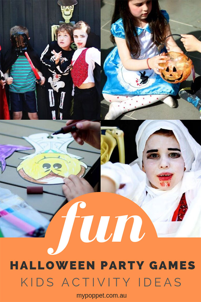 Halloween Party Games for Kids - mypoppet.com.au