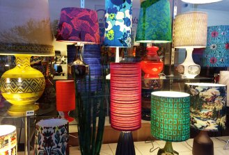 The Lampist - A retro Lamp shop in Melbourne's South East - worth a visit if you are into vintage decor and fabrics mypoppet.com.au