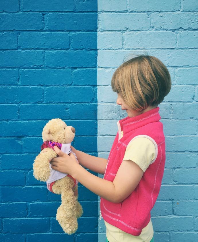 child with teddy mypoppet.com.au