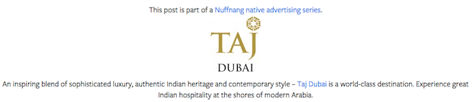 Footer - Taj Dubai copy