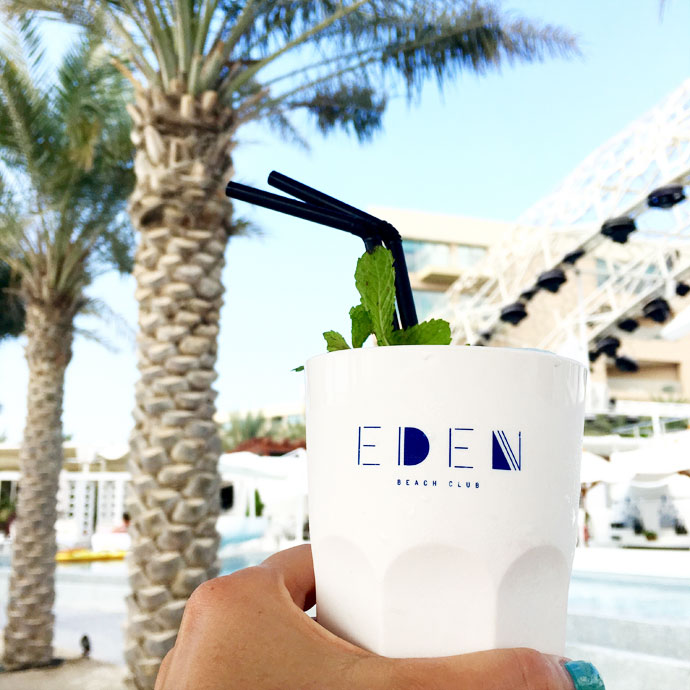 eden beach club drink dubai