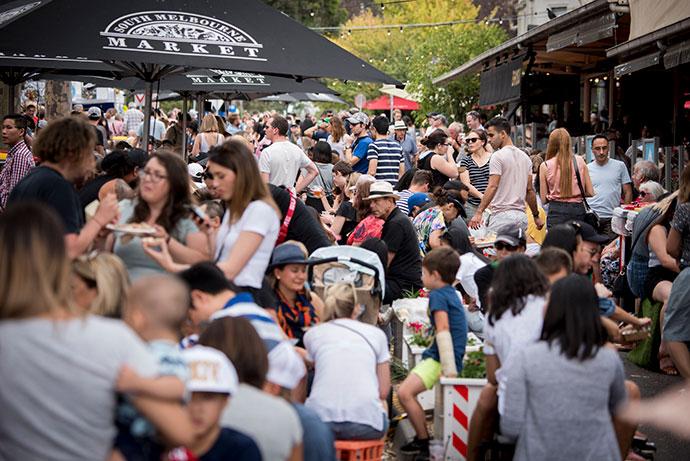 The 6th annual Port Phillip Mussel Festival