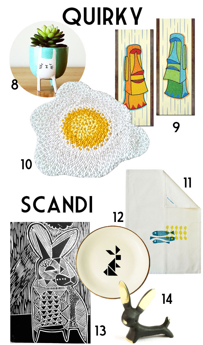 quirky and scandi home decor for easter - Easter decor