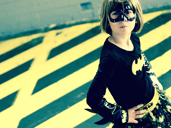 bat girl cosplay