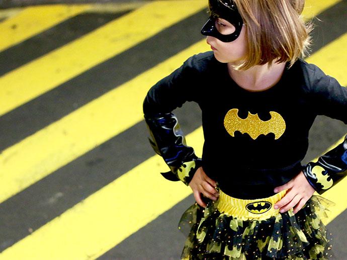 Batgirl costume - dc superhero girls