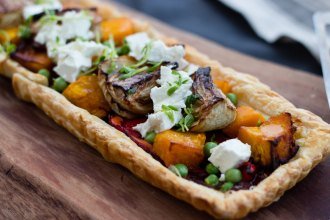 Easy vegetable tart recipe