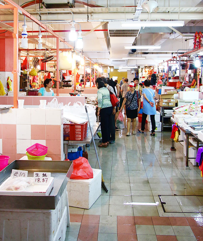 Chinatown complex singapore - wet market