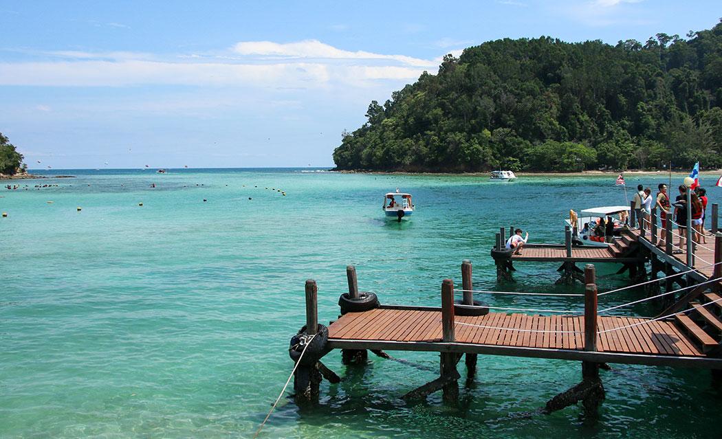 Tropical island day trip - Sabah Malaysia