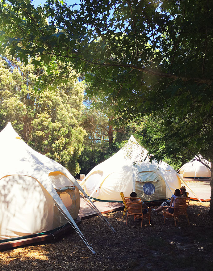 Glamping in the Yarra Valley, Victoria Australia. A review by mypoppet.com.au