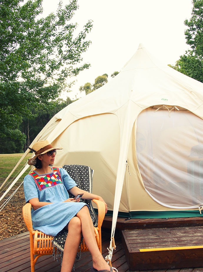 glamping yarra valley - campsite review