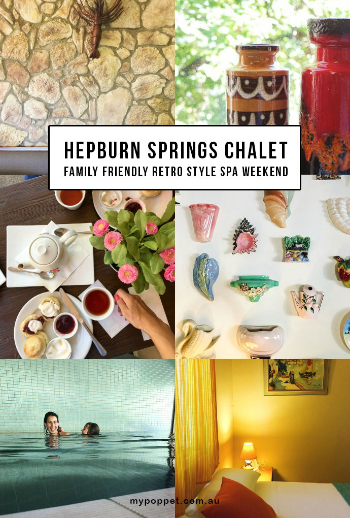 Hepburn Springs Chalet - Budget Spa Weekend with a Retro Twist - Review - Mypoppet.com.au
